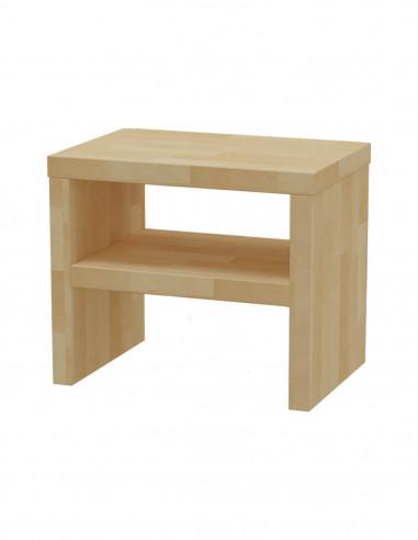 Nočný stolík z bukového dreva MS 1