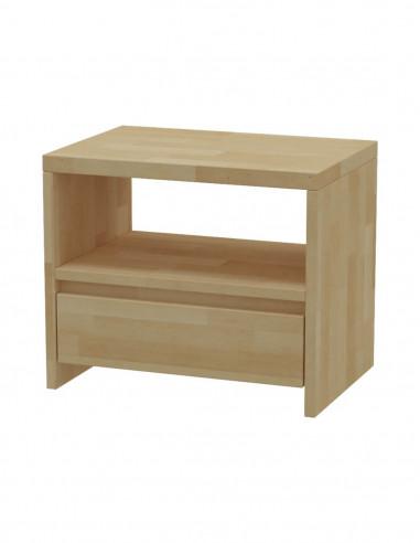 Nočný stolík z bukového dreva MS 3