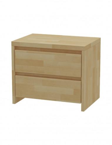 Nočný stolík z bukového dreva MS 4