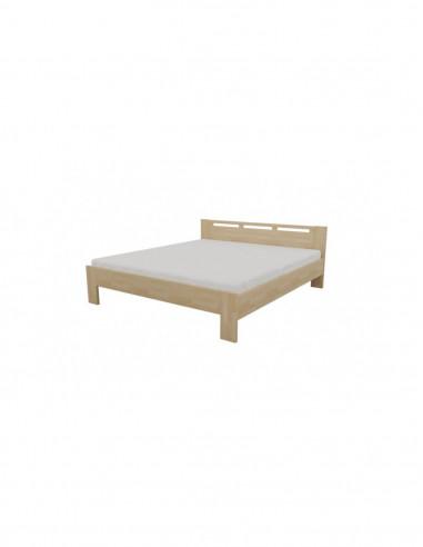 posteľ z masívneho bukového dreva