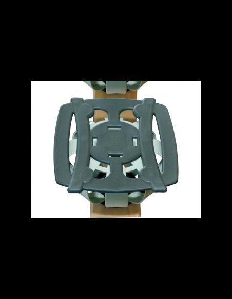 Polohovateľný lamelový rošt s bodovým pružením Lux HN