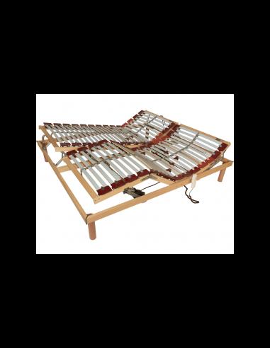 Set polohovateľného a mobilného lamelového roštu