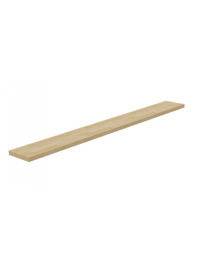 Polica z bukového dreva Basic