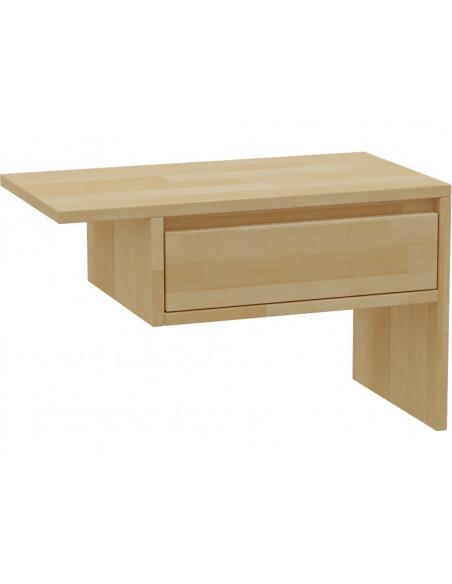 Nočný stolík z masívneho bukového dreva
