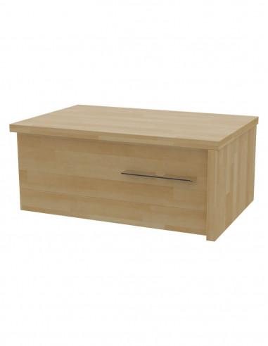 Nočný stolík MS 10 z masívneho dreva