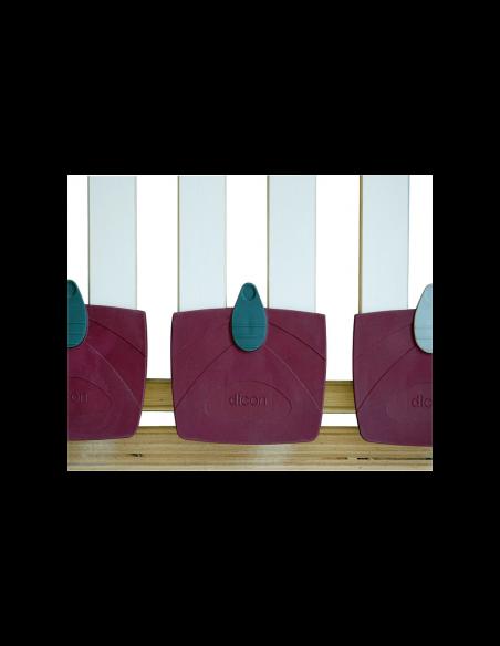 Set 2 mobilných lamelových roštov